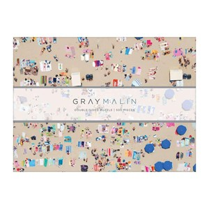 "Chronicle Books / Galison (9780735357242) - Gray Malin: ""The Beach"" - 500 pièces"