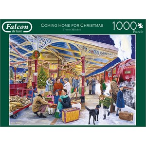 """Falcon (11266) - Trevor Mitchell: """"Coming Home for Christmas"""" - 1000 pièces"""