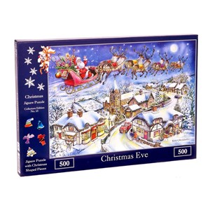 """The House of Puzzles (4494) - Ray Cresswell: """"No.13, Christmas Eve"""" - 500 pièces"""
