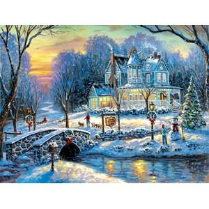 """SunsOut (60760) - Robert Finale: """"A White Christmas"""" - 1000 pièces"""