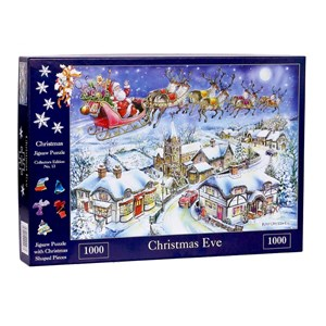 """The House of Puzzles (4487) - Ray Cresswell: """"No.13, Christmas Eve"""" - 1000 pièces"""