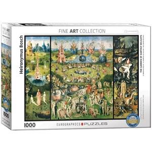 """Eurographics (6000-0830) - Hieronymus Bosch: """"Le Jardin des Délices"""" - 1000 pièces"""