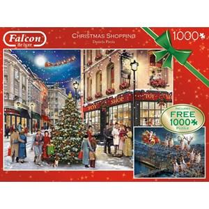"Falcon (11225) - Daniela Pirola: ""Christmas Shopping"" - 100 pièces"
