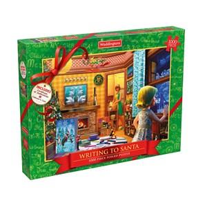 """Waddingtons (5036905001861) - """"Writing To Santa"""" - 1000 pièces"""