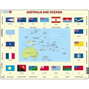 """Larsen (KL5-GB) - """"Australia and Oceania"""" - 35 pièces"""