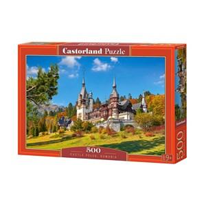 "Castorland (B-53292) - ""Castle Peles, Romania"" - 500 pièces"