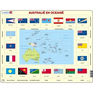 "Larsen (KL5-NL) - ""Australia and Oceania - NL"" - 35 pièces"