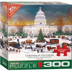 """Eurographics (8300-5403) - """"Christmas at the Capitol"""" - 300 pièces"""