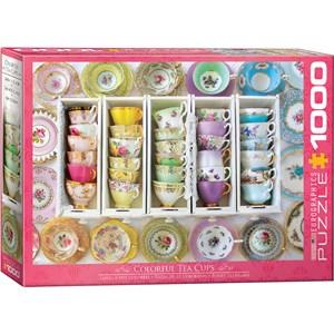 """Eurographics (6000-5342) - """"Tea Cups Boxes"""" - 1000 pièces"""