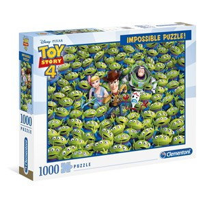 "Clementoni (39499) - ""Toy Story 4"" - 1000 pièces"