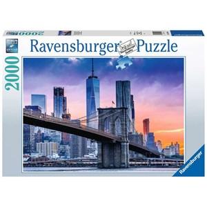 """Ravensburger (16011) - """"De Brooklyn à Manhattan"""" - 1000 pièces"""