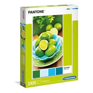 """Clementoni (39492) - """"Jaune Citron"""" - 1000 pièces"""