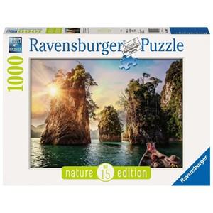 "Ravensburger (13968) - ""Three rocks in Cheow, Thailand"" - 1000 pièces"