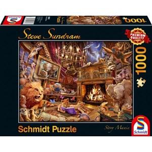 "Schmidt Spiele (59661) - Steve Sundram: ""Story Mania"" - 1000 pièces"
