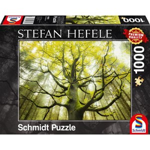 """Schmidt Spiele (59669) - Stefan Hefele: """"Dream Tree"""" - 1000 pièces"""