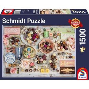 "Schmidt Spiele (58940) - ""Chocolate Nostalgia"" - 1500 pièces"