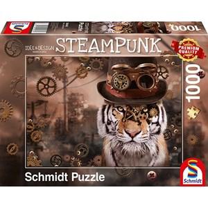 """Schmidt Spiele (59646) - Markus Binz: """"Steampunk Tiger"""" - 1000 pièces"""