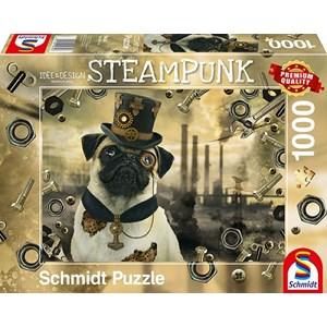 """Schmidt Spiele (59645) - Markus Binz: """"Steampunk Dog"""" - 1000 pièces"""