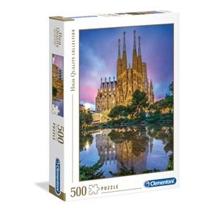 "Clementoni (35062) - ""Sagrada Familia, Barcelone"" - 500 pièces"