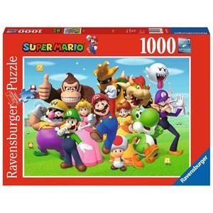"""Ravensburger (14970) - """"Super Mario"""" - 1000 pièces"""