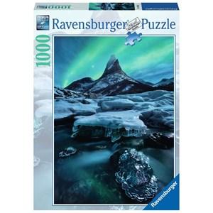 """Ravensburger (19830) - """"Stetind dans le Nord de la Norvège"""" - 1000 pièces"""
