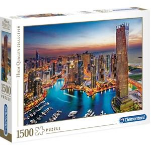 "Clementoni (31814) - ""Dubai Marina"" - 1500 pièces"