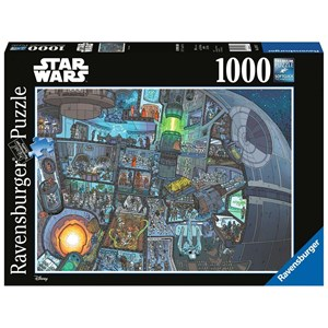 "Ravensburger (13976) - ""Where's Wookie?"" - 1000 pièces"