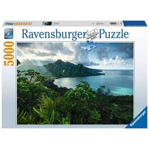 "Ravensburger (16106) - ""Vue sur Hawaï"" - 5000 pièces"