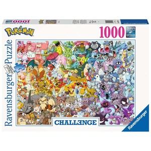 "Ravensburger (15166) - ""Pokemon"" - 1000 pièces"
