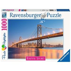"Ravensburger (14083) - ""San Francisco"" - 1000 pièces"