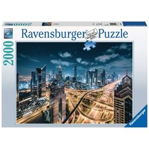 """Ravensburger (15017) - """"Vue sur Dubaï"""" - 2000 pièces"""