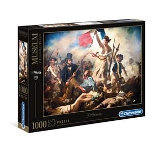 """Clementoni (39549) - Eugene Delacroix: """"Libert Guidant le Peuple"""" - 1000 pièces"""