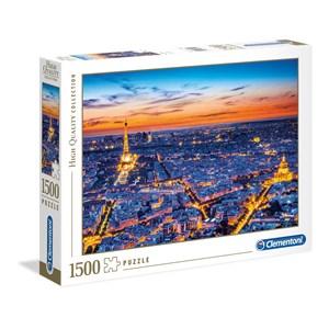 """Clementoni (31815) - """"Paris View"""" - 1500 pièces"""