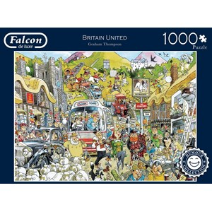 "Falcon (11197) - Graham Thompson: ""Britain United"" - 1000 pièces"