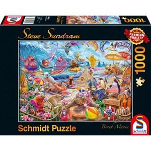 "Schmidt Spiele (59662) - Steve Sundram: ""Beach Mania"" - 1000 pièces"