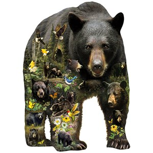"""SunsOut (96033) - Greg Giordano: """"Forest Bear"""" - 1000 pièces"""