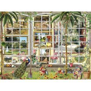 "SunsOut (27250) - Barbara Behr: ""Gardens in Art"" - 1000 pièces"