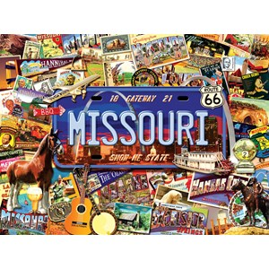 "SunsOut (70038) - Kate Ward Thacker: ""Missouri, The ""Show Me"" State"" - 1000 pièces"
