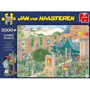"Jumbo (20023) - Jan van Haasteren: ""Le Marché de l'Art"" - 2000 pièces"