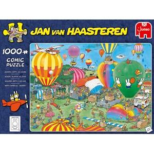 """Jumbo (20024) - Jan van Haasteren: """"Hooray, Miffy 65 years"""" - 1000 pièces"""
