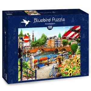 "Bluebird Puzzle (70143) - ""Amsterdam"" - 1500 pièces"