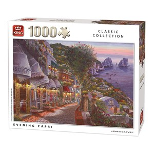 "King International (55863) - ""Evening Capri"" - 1000 pièces"