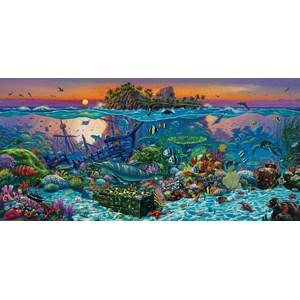 "SunsOut (20121) - Wil Cormier: ""Coral Reef Island"" - 1000 pièces"