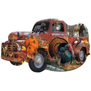 "SunsOut (96089) - Cynthie Fisher, Jerry Gadamus: ""Harvest Truck"" - 1000 pièces"