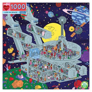 "eeBoo (PZTLIS) - Jim Stoten: ""Life in Space"" - 1000 pièces"