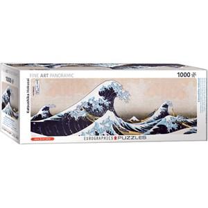 "Eurographics (6010-5487) - Hokusai: ""La Grande Vague de Kanagawa"" - 1000 pièces"