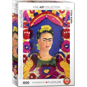 "Eurographics (6000-5425) - Frida Kahlo: ""Frida Kahlo, Self Portrait"" - 1000 pièces"