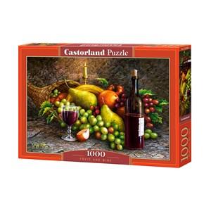 """Castorland (C-104604) - """"Des Fruits et du Vin"""" - 1000 pièces"""