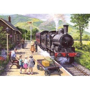 "Gibsons (G6272) - Stephen Warnes: ""All Aboard to Keswick"" - 1000 pièces"