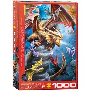 "Eurographics (6000-5475) - Anne Stokes: ""Clan de Dragons"" - 1000 pièces"